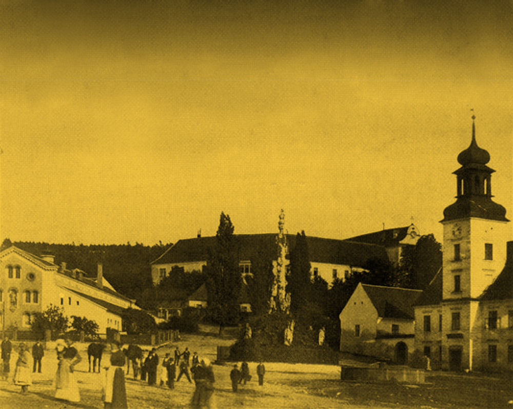 Historická fotografie pivovaru